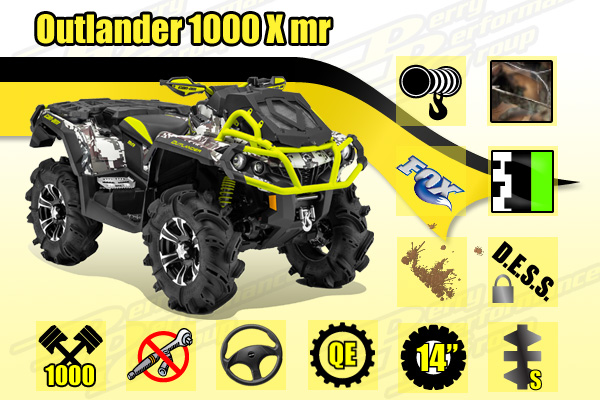 2015 Can-Am 1000 X mr ATV