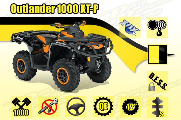 2015 Can-Am 1000 DPS XT-P ATV