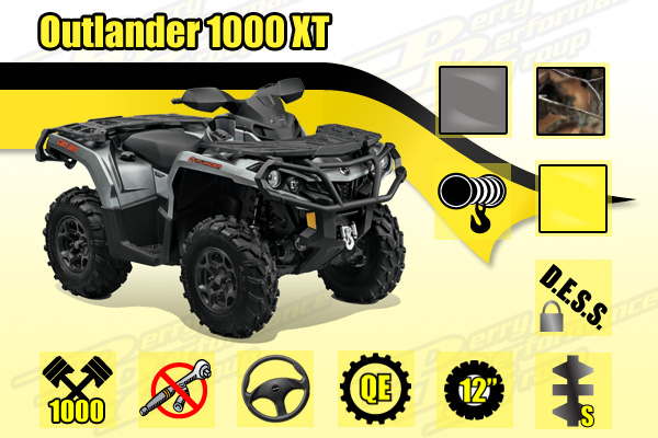 2015 Can-Am 1000 DPS XT ATV