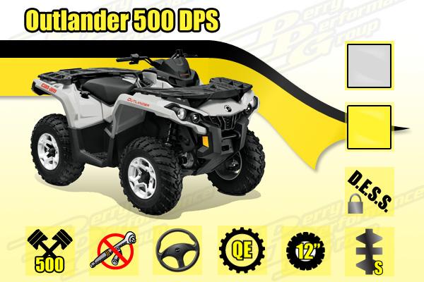 2015 Can-Am Outlander 500 DPS ATV