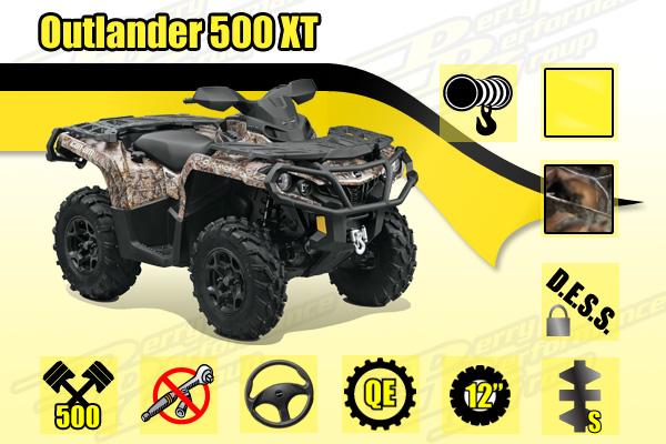 2015 Can-Am Outlander 500 XT ATV