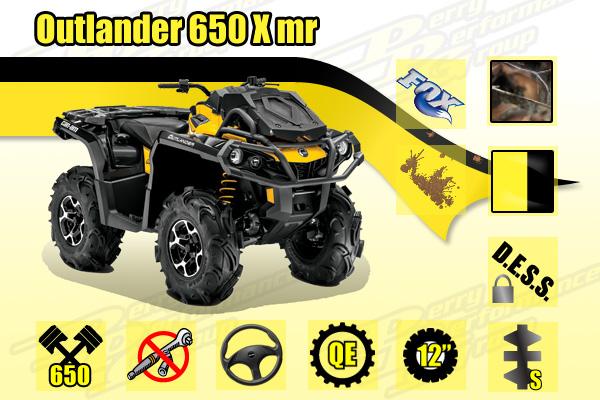 2015 Can-Am Outlander 650 X mr ATV
