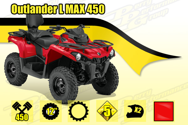 2015 Can-Am Outlander L MAX 450