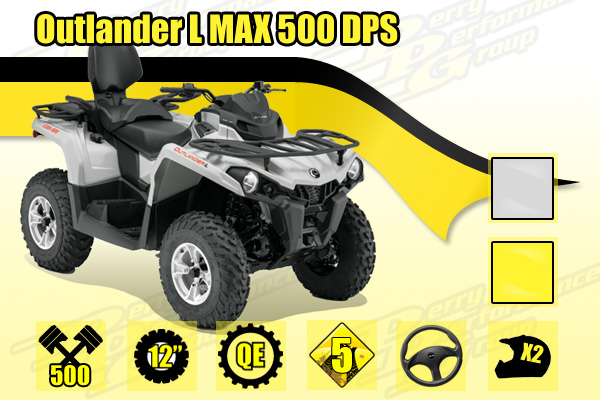 2015 Can-Am Outlander L MAX 500 DPS
