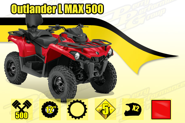 2015 Can-Am Outlander L MAX 500