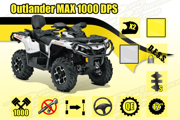 2015 Can-Am Outlander MAX 1000 DPS