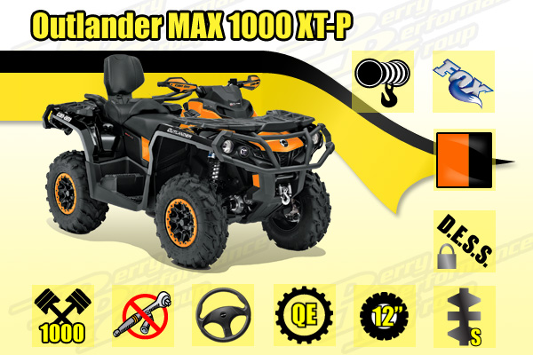 2015 Can-Am Outlander MAX XT-P ATV