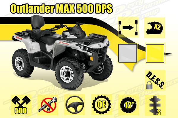 2015 Can-Am Outlander MAX 500 DPS ATV