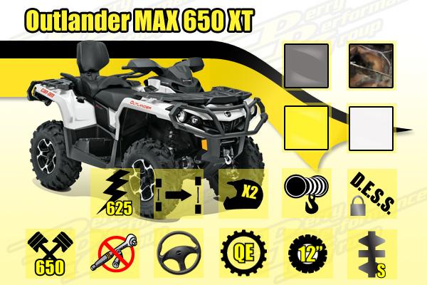 2015 Can-Am Outlander MAX 650 XT ATV