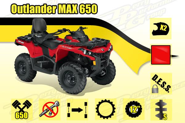 2015 Can-Am Outlander MAX 650 ATV