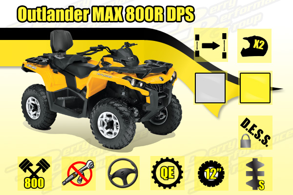 2015 Can-Am Outlander MAX 800R DPS