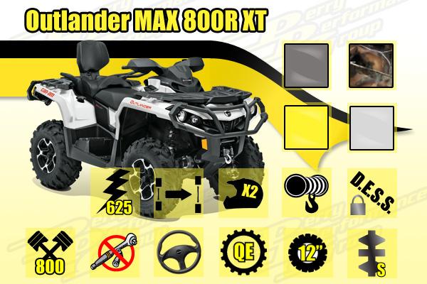 2015 Can-Am Outlander MAX 800R XT