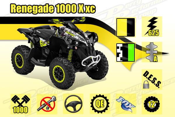 2015 Can-Am Renegade 1000R X xc ATV