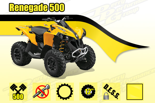 2015 Can-Am Renegade 500 ATV