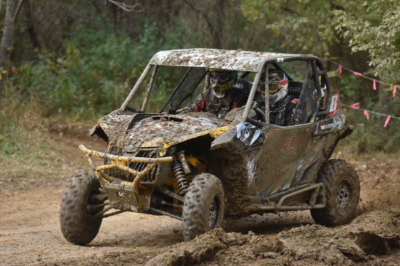 Winner of the last two AMSOIL GNCC UTV Championship Series rounds, Chaney Racing / Can-Am Maverick 1000R pilot Kyle Chaney (and co-pilot Chris Bithell) continued his winning streak taking the XC1 Modified class victory at Powerline Park in Ohio.