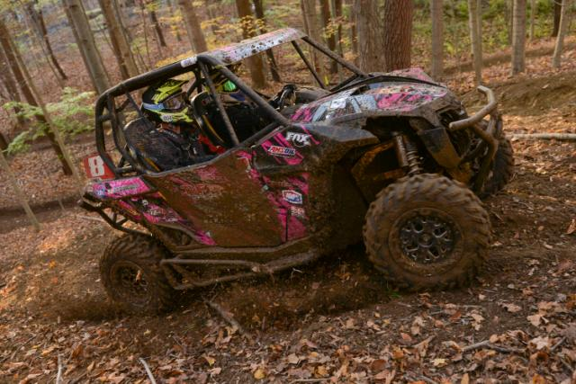 Kyle Chaney (Chaney Racing / Can-Am) won the 2014 Grand National Cross Country XC1 Modified (side-by-side) class championship in his Can-Am Maverick 1000R X rs unit, giving BRP its first ever GNCC side-by-side title.