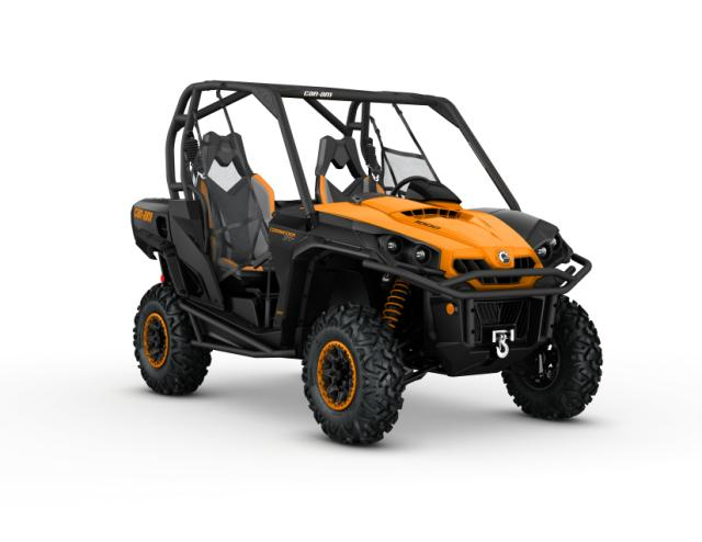 2016 Commander XT-P 1000 Black - Orange_3-4 front