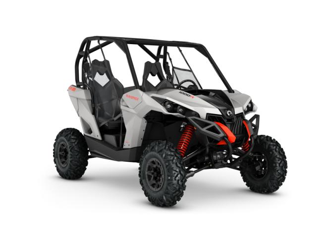2016 Maverick 1000R Light Grey_3-4 front